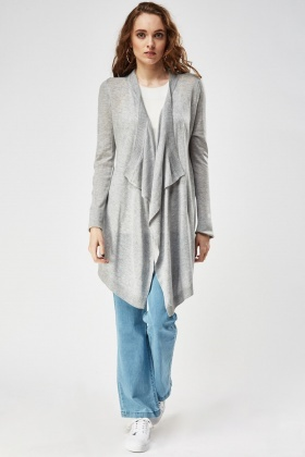 Waterfall Thin Knitted Cardigan
