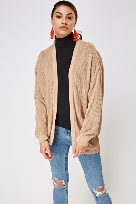 Loose Knit Longline Cardigan