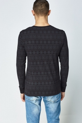 Snowflake Thermal Top