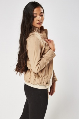 Casual Zip Up Jacket