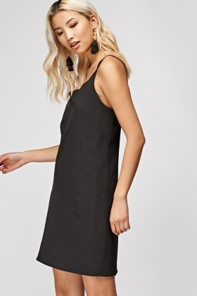 Scallop Trim Cami Dress