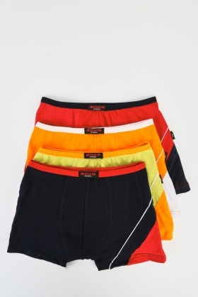 Pack Of 4 Kids Boxer Briefs