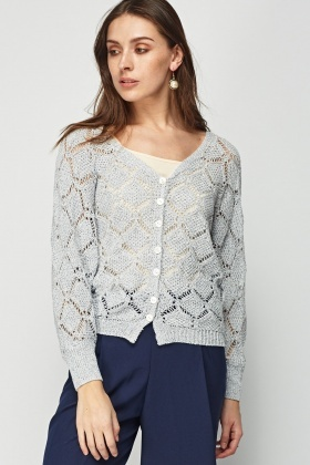 Loose Knit Casual Cardigan