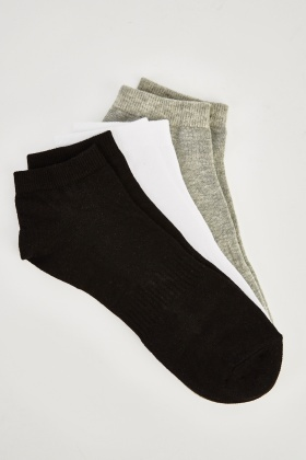 Pack Of 12 Trainer Socks