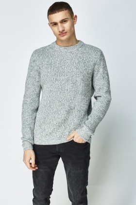 Casual Speckled Jumper