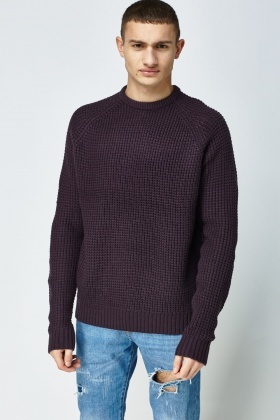 Chunky Loose Knit Jumper