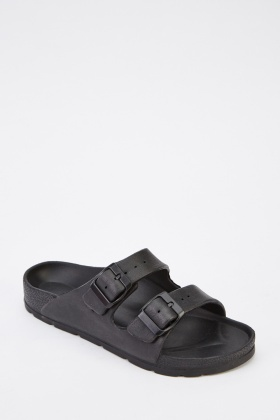 Twin Buckled Sandals