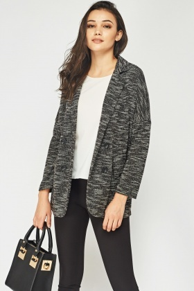 Speckled Knitted Jacket