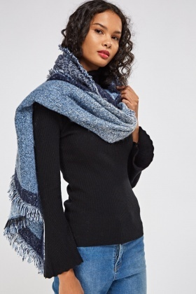 Bobble Knitted Scarf