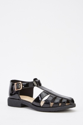 PVC Fisherman Gladiator Sandals