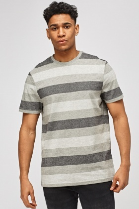 Striped Grey T-Shirt