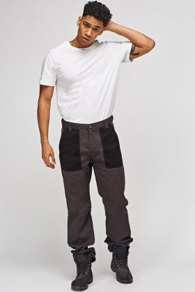 Charcoal Mens Work Trousers
