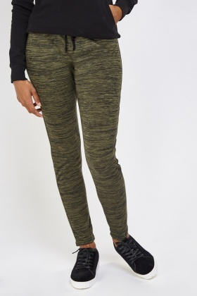 Speckled Casual Jogger Pants