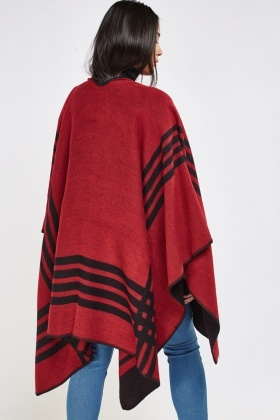 Knitted Casual Cape