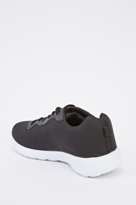 Mens Contrast Low Top Trainers