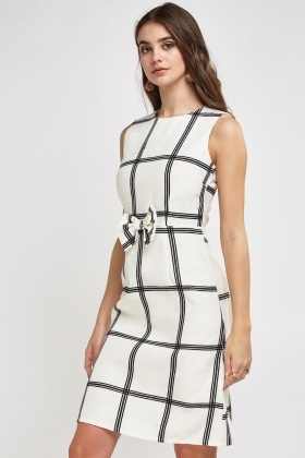 Bow Tie Midi Dress