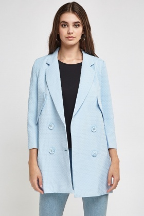 Textured Classic Tomboy Coat