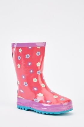Flower Girls Wellie Boots