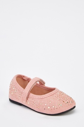 Suedette Ballet Shoes