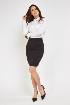 Smart Black Pencil skirt