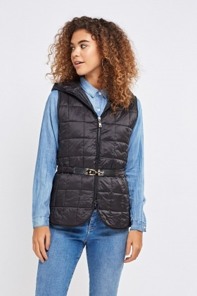 Quilted Hooded Gilet
