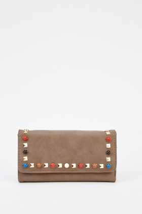 Studded Multi Trim Purse
