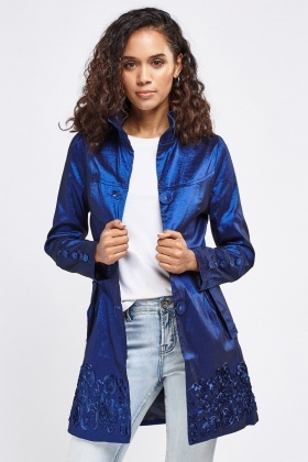 Shiny Textured Jacket