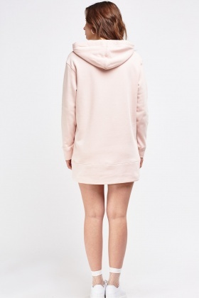 Oversize Long Hoodie Jumper Dress