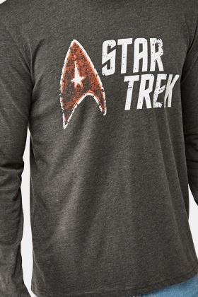 Star Trek Printed Long Sleeve Top