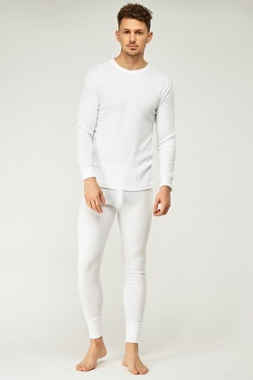 Thermal Long Sleeve Top And Trousers Set