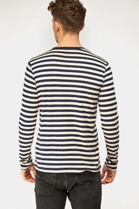 Long Sleeve Striped T-Shirt