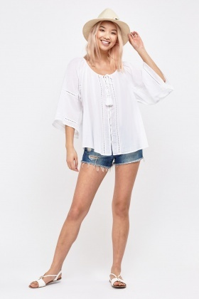 Loose Flow Bohemian Top