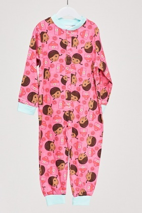 Doc Mcstuffin Footless Onesie