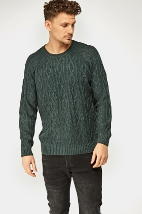Cable Knit Causal Jumper