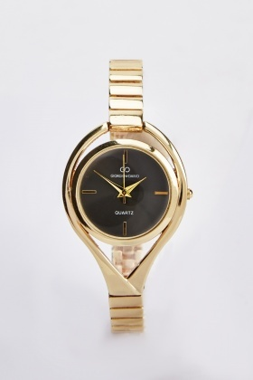Cut Out Skinny Strap Watch