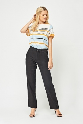 Basic Straight Cut Trousers