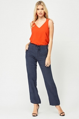 Casual Tailoring Flared Trousers