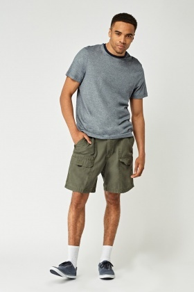 Pocket Front Casual Shorts