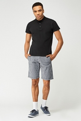 Tattersall Cotton Shorts