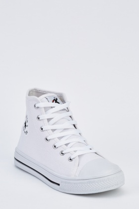 Mens High Top Trainers