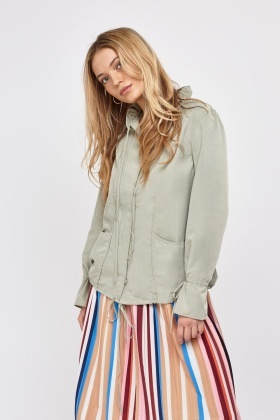 Button Up Casual Jacket