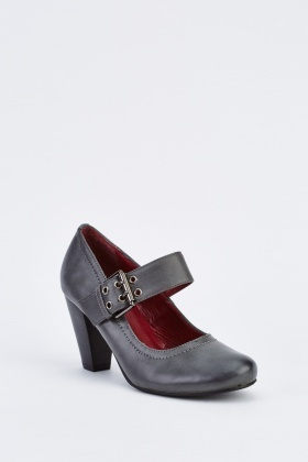 Mary Jane Block Heel Shoes