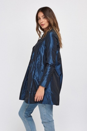 Babydoll Trench Coat