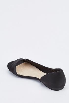 open peep toe flats outlet online 41605