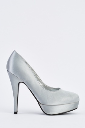 Metallic Pump Heels