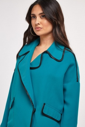 Double Breasted Collar Jacket