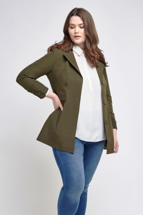 Olive Light Weight Jacket