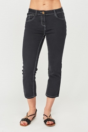 Ankle Cropped Jeans