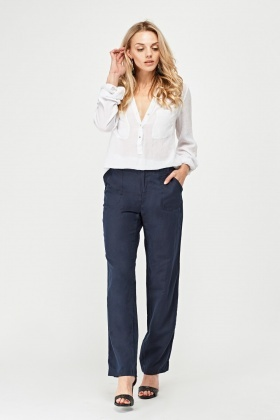 Light Weight Linen Trousers