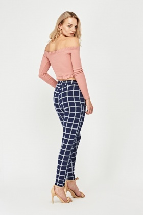 Window Pane Trousers